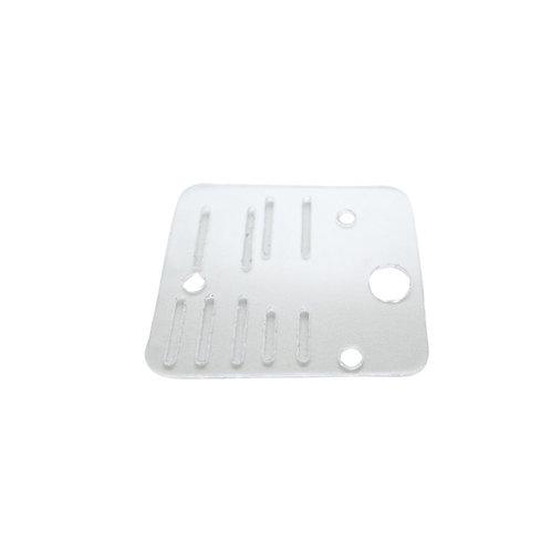 Plate - Microswitch, Lexan, PWS