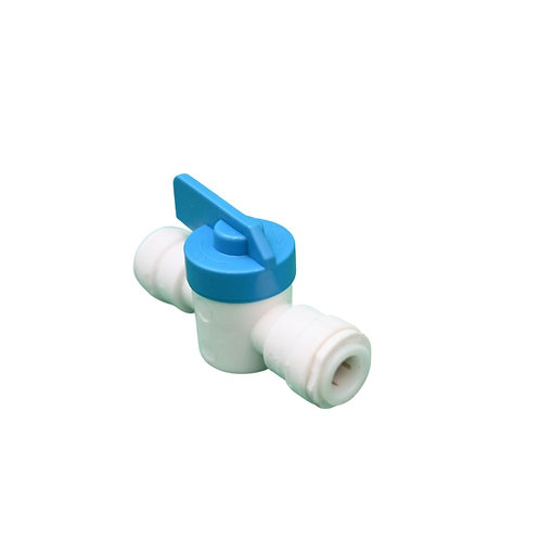 "Valve - 1/4"" QC, BE Poly"