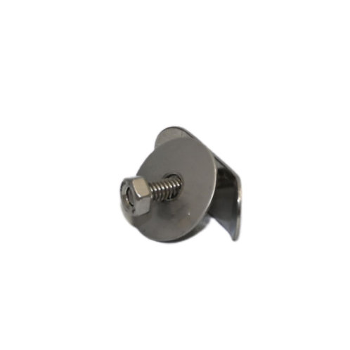 Heater Clip - Complete w/ nut & washer, SS