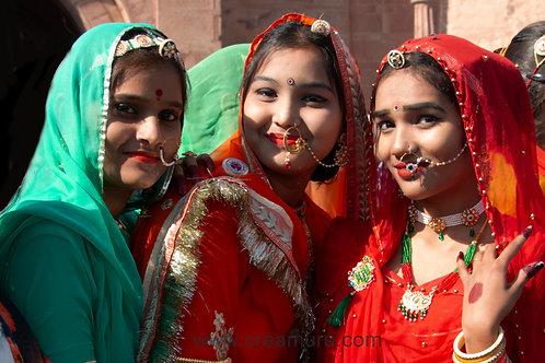 Indische meisjes