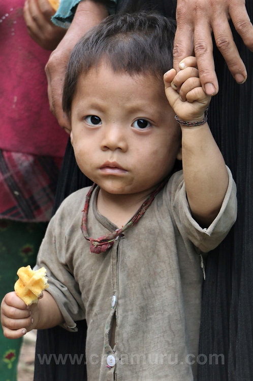 Boy in Northern Vietnam