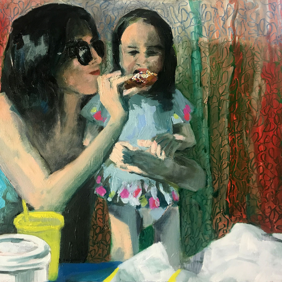 Mother and Child and Donut (2019)