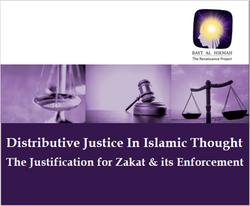 Distributive Justice in Islam