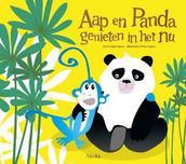 Aap en Panda genieten in het nu