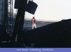 Backstage Guns N' Roses, Axl Rose