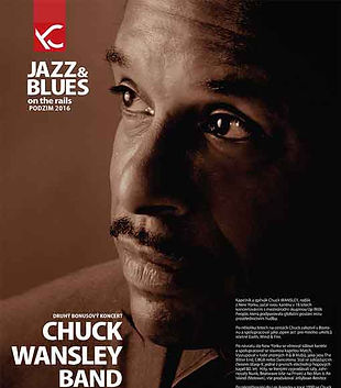 #001 chuck wansley Jazz & Blues On The Rails promo