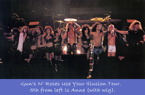 Guns N' Roses Use Your Illusion Tour
