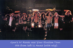 Guns N' Roses Use Your Illusion Tour