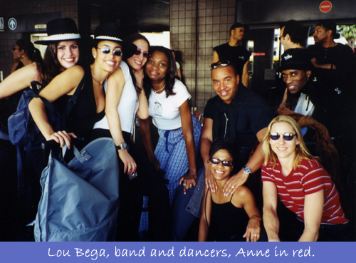 Lou Bega Tour - Band & Dancers