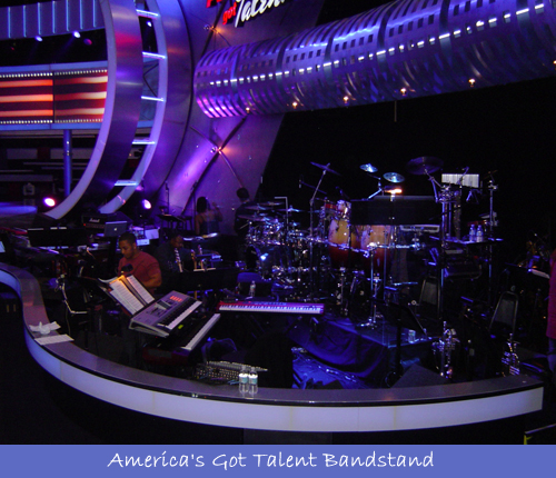 2012 America's Got Talent Bandstand