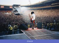 Behind Slash of Guns N' Roses