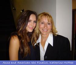 With Katherine McPhee
