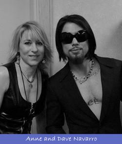 With Dave Navarro