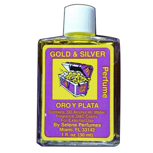 Gold/Silver - Oro/Plata Perfume 1oz