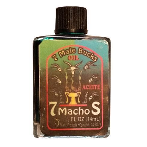 7 Machos/7 Males Fragranced Oil - 0.5oz