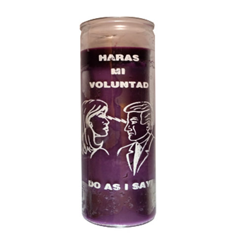 Do As I Say/Haras mi Voluntad ~ Purple/Morada