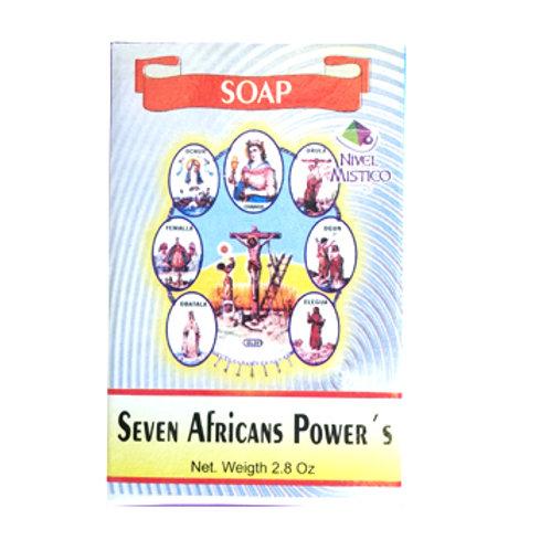 Jabon Seven Africans Powers 2.8oz