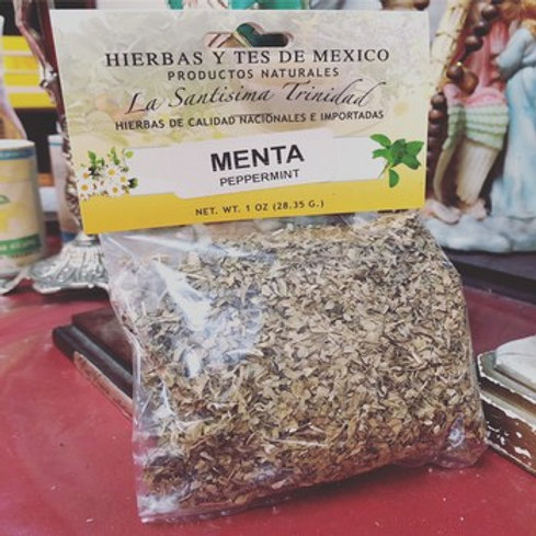 Menta/Peppermint 1oz - Herbs, Roots & Element