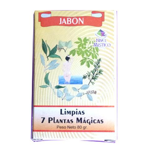 Jabon 7 Plantas Magicas 2.8oz