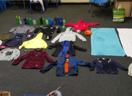 Summer Camp Lost Property!