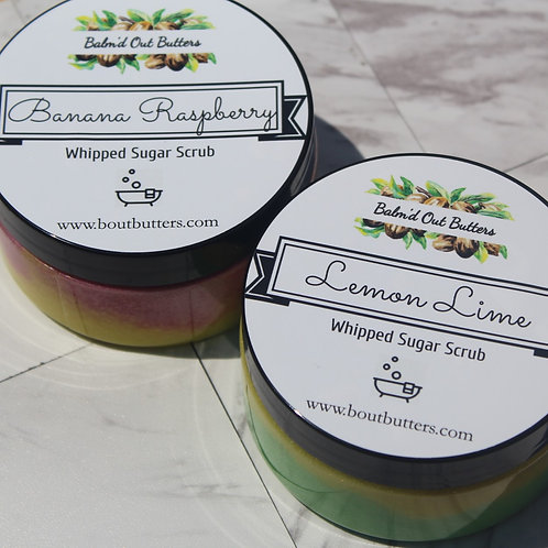 Emulsified Sugar Scrubs