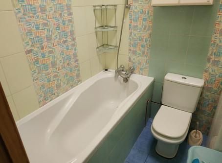 Уборка ванной комнаты с нуля самостоятельно