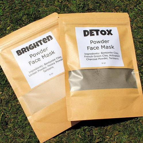 Powder Clay Masks