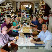 Group In Castelbuono for Lunch