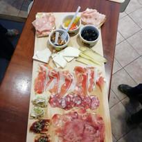 Tasting Food In Castelbuono