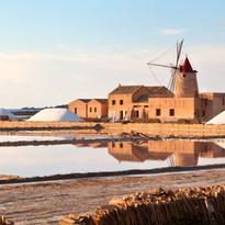 Mill in Salt Flats