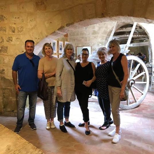 Gruppo presso Museo del Sale