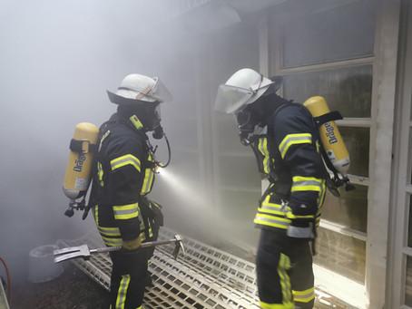 Kellerbrand in Büderich