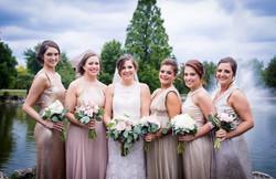 Frankie B bridesmaids