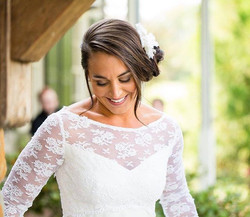 One of my brides. Makeup by me. Photography by Ashley Lynn Fry Photography
