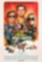 Once Upon a Time in Hollywood movie postr