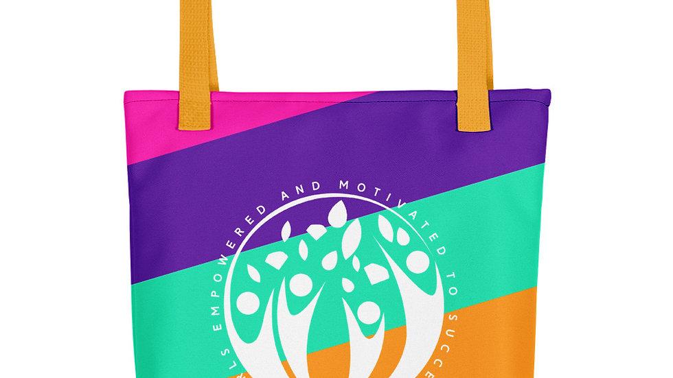 GEMS Color Stripe Tote bag