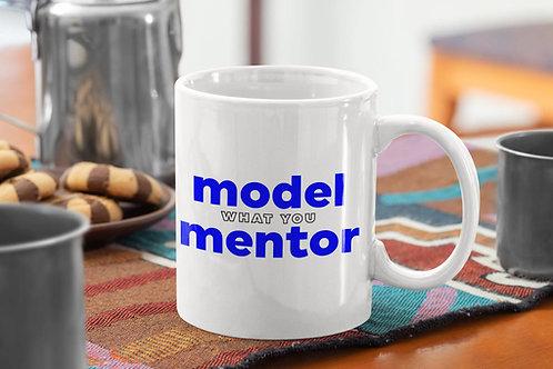 MODEL what you MENTOR Mug