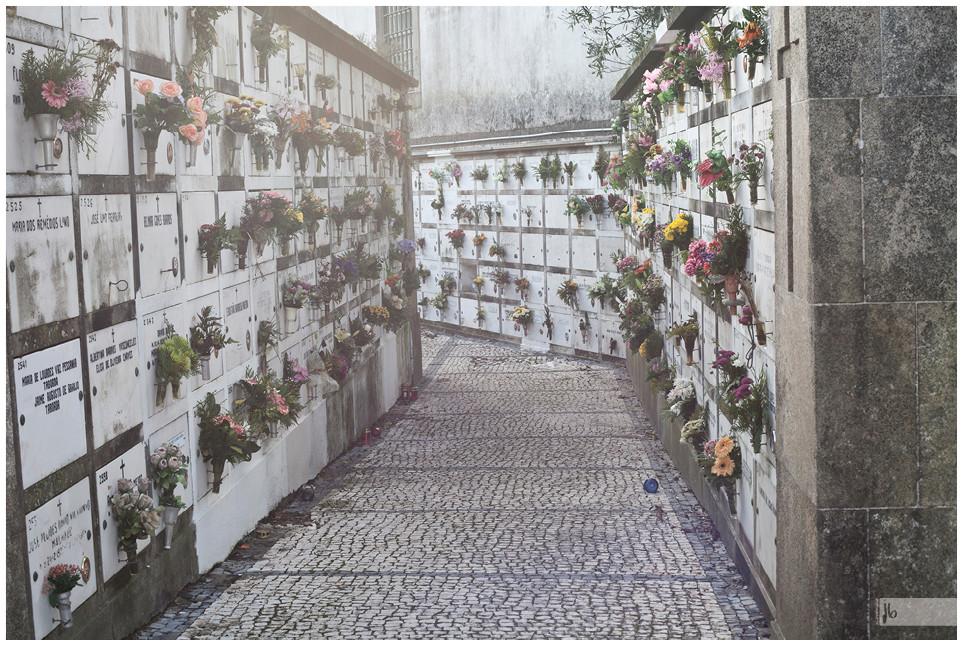 Urnenfriedhof in Porto, Portugal, Porto