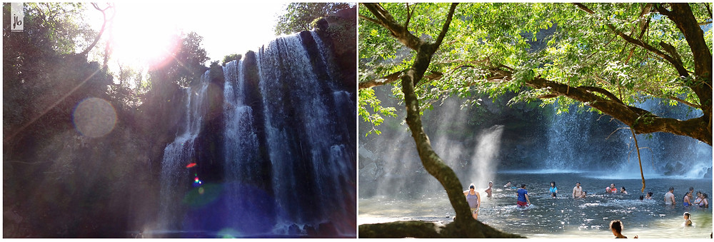 Ilanos de Cortes, Costa Rica, Wasserfall