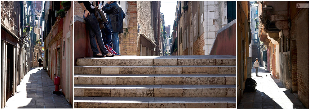 Venedig Treppen und Gassen, Italien, Venice