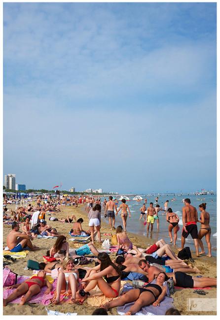 Strandbild Italien