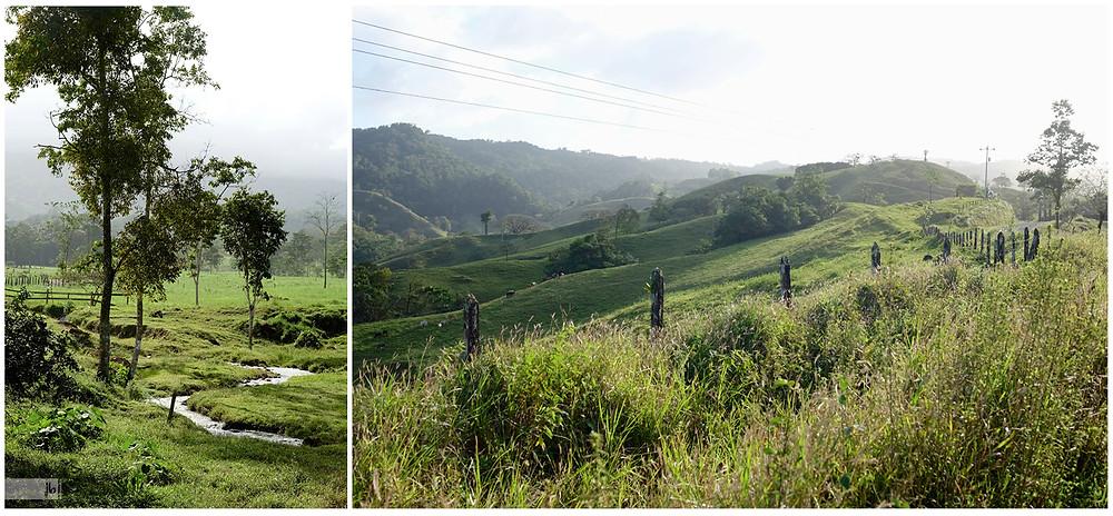 Costa Rica Berglandschaft