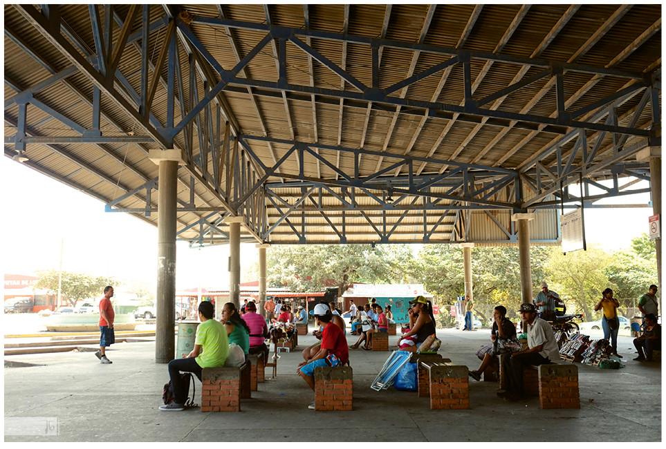 Busbahnhof in Liberia, Costa Rica