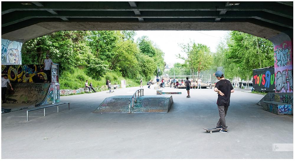 Basel, Skatepark