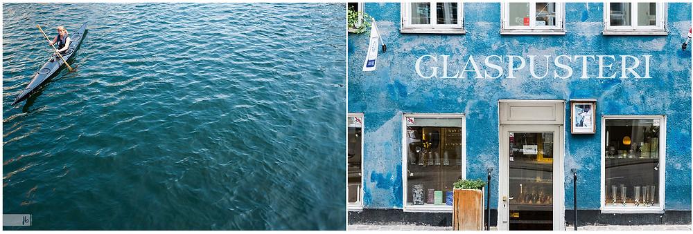 Kopenhagen Glasbläserein Kanufahren