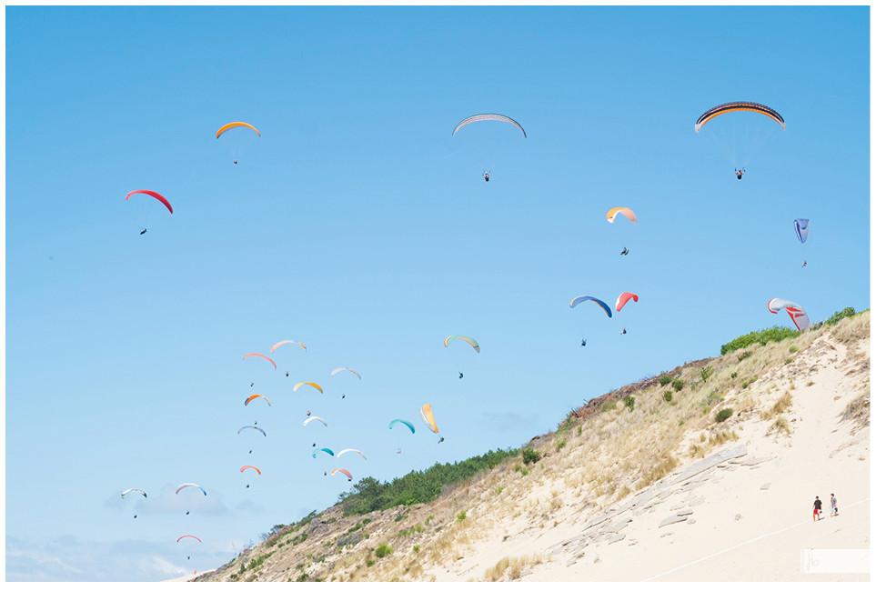 Dune du Pilat Paraglide