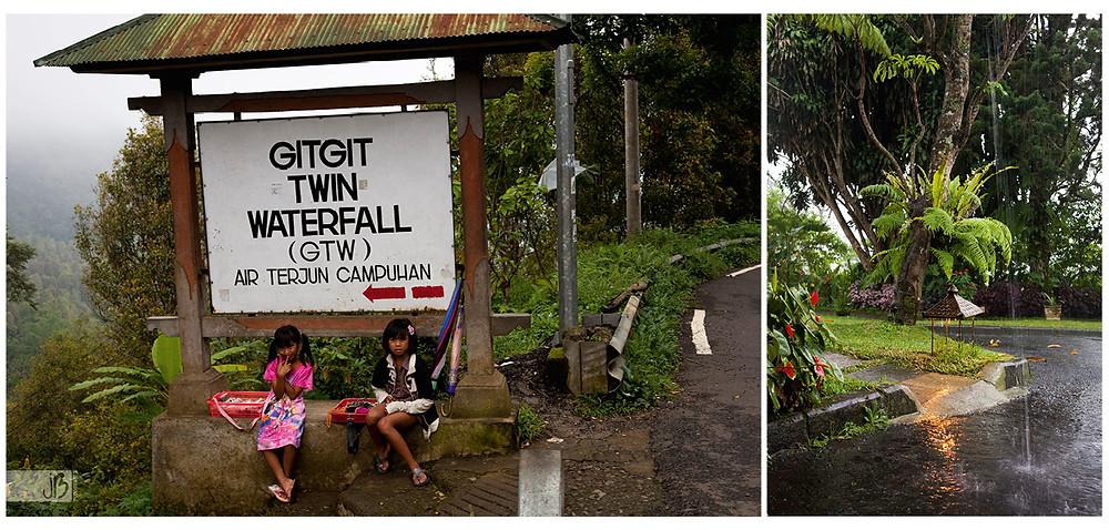 Gitgit twin Waterfall, Bali, Strawberry Hill