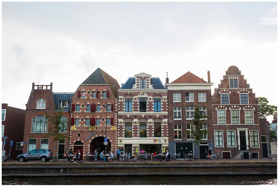 Häuserreihe Den Haag