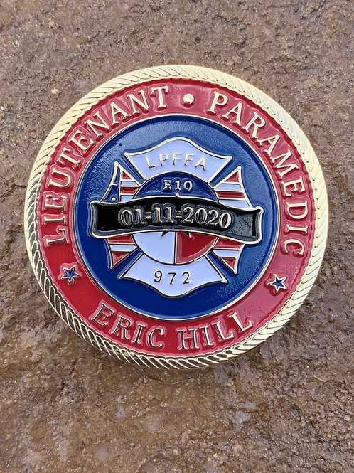 Hill/Reyna Challenge Coin