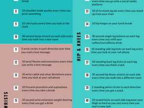 50 Ways to Prevent Pain When Sitting All Day